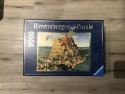 9000 Pc Ravensburger Jigsaw Puzzle - Tower Of Babel