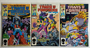 Marvel Comic Lot Transformers Limited Series Movie 1 2 3 1-3 Vf/nm Bag Boarded