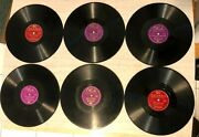 Roy Acuff 78 Rpm Records Lot Of 6, Okeh Columbia Wabash Cannonball, More