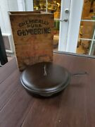 Griswold Best Made 10 Cast Iron Skillet And Matching Lid Restored