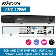 Kkmoon 4ch / 8ch/ 16ch 1080p Ahd Tvi 5in1 Dvr Video Recorder For Security System