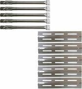Burner+ Heat Plate Shields Compatible With Kenmore Sears Grill Chef, Gas Grills