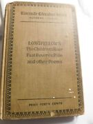 Longfellow Riverside Literature Paul Revereand039s Ride Other Poems Book 1894