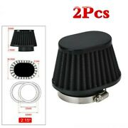 2.15 / 55m Id High Performance Motorcycle Parts Pod Air Filter Cleaner2
