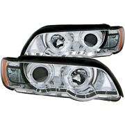 121397 Anzo Headlight Lamp Driver And Passenger Side New Lh Rh For E53 X5 Series