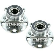 Set-tmha590136 Timken Wheel Hub And Bearings Set Of 2 New Lh And Rh For Gs300 Pair