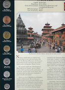 Coins From Around The World Nepal 1996 - 2001 Bu Unc 10 5 Rupees 1997 2 Rp 1996