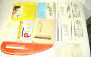 Lutterloh System The Golden Rule Diy Sewing Pattern Making Kit Complete W/extras