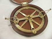 Antique Circular Protractor William And John Cary London Cased