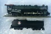 Challenger Imports Great Northern Rr Class S-1, 4-8-4 Locomotive 2555 Open Cab