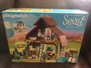 Playmobil - Spirit Riding Free 4+ Up Barn With Lucky 70118 New 153 Pieces Fs