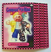 Garbage Pail Kids Flashback 1 Lot Of 16 Pink Border Stickers In Nmint Condition