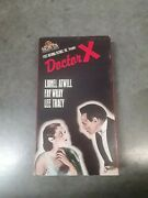 Doctor X, 1932 ‧ Horror/mystery, Lionel Atwill, Fay Wray, Lee Tracy, Rare Vhs