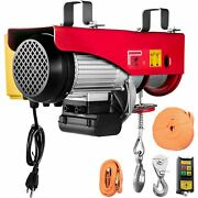Electric Hoist 110v Electric Winch 1320lbs With Wireless Remote Control