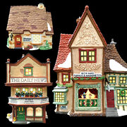 Dept 56 Christmas Dickens Village Series / Puppet Theater / Daily News / Baker