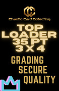 Ccc Top Loaders Case 1000 35 Pt. Tl 3 X 4 Standard Card Size Ultra Clear