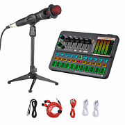 Sk500 Portable Live Sound Card Voice Changer Device Audio Mixer Kit Y3o2