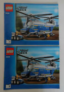 Lego City Instruction Manual For Set 4439heavy-duty Helicopter