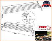 3 Burners Grill Warming Rack 23.5 Inch Grates For Weber Genesis 300 Series E310