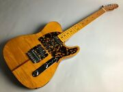 Used 2010 H.s.anderson Hs1 Mad Cat Golden Brown Telecaster Flamed Maple Top