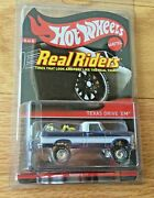 2012 Hot Wheels Rlc Real Riders Series Texas Drive 'em 1836/4000, In Protector