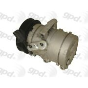 6512427 Gpd A/c Ac Compressor New With Clutch For Ford Fusion Mercury Milan