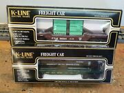 K Line Prr Flat With Transformers And Kennecott Copper Flat With Tank, Lot.