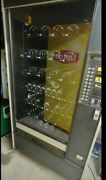 Large Snack Vending Machine Black Very Good Condition