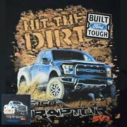 Ford Raptor T-shirt F-150 Off Road 4x4 Pickup Truck Racing Small To 6xl And Tall