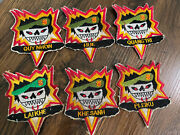 Lot Of 6 Us Army Special Forces Patches Reproduction Theater Made