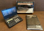 Texas Instruments Professional Ti-65 Technical Analyst Calculator