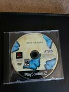 Rule Of Rose Sony Playstation 2 2006