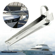 316 Stainless Steel Marine Boat Bow Anchor Self Launching Fixed Roller Au Kand