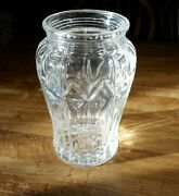 Beautiful 11-1/2 Tall Waterford Lead Crystal Vase - Weight Is 9 Lbs., 4 Oz.