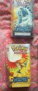 Pokemon Ex Unseen Forces Golden Sky And Silvery Ocean Theme Decks Lugia / Ho-oh