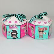 Lol Surprise Present Surprise Series 2 Glitter Star Sign Themed Doll Lot Of 2