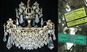 A. Schonbek And Co. Inc Crystal Chandelier Vintage 1968 Glass Prisms Beautiful