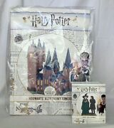 Dept 56 Lot Of 2 Hogwart's Astronomy Tower + Snape And Mcgonagall Hpv D56 New