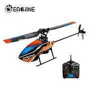 Eachine E119 2.4g 4ch 6-axis 4ch Flybarless Rc Helicopter Rtf Optional Mode