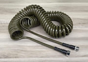 Water Right 300 Series 3/8 Coil Garden Hose, Drinking 50-foot, Olive Green