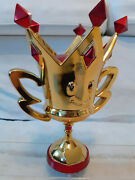 Extremely Rare - Trophy Trophandeacutee Statue Mario Kart 7 Club Nintendo Special L Size