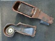 1969 Gm Chevrolet Chevy Chevelle Heater Box Cover Misc Parts