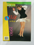 Kylie Minogue Hits On The Go 48 Page Bumper Book Magazine Posters Very Rare 1989