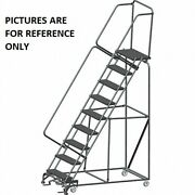 New Ballymore 133 In H Steel Stock Picking Ladder-10 Steps-450 Lb Lb Capacity