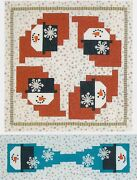 Frosty Trails Table Topper Or Wall Hanging Quilt Pattern