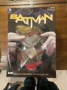 Batman Death Of The Family Book And Mask Set - Free Shipping Unopened Joker