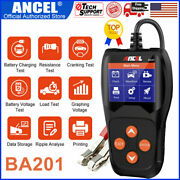 12v Auto Battery Tester Car Power Charging Cranking Scan Electronic Diagnostic