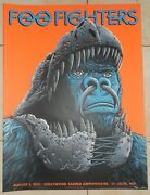 Foo Fighters Poster St. Louis Hollywood Casino 2021 Low Number 28/450
