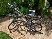Slightly Used 2020 Purchase , One Black, One Blue Dahon Suv D6 Foldable Bikes