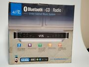 Ilive Bluetooth Under The Cabinet Music System With Cd Player And Radio And Remote